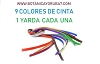 CINTAS  9 COLORES ( 1 YARDA DE CADA COLOR )