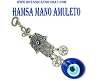 Evil Eye Small Hand Amulet - Hanging  6.5''