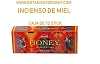 INCIENSO DE MIEL - HONEY INCIENSO CAJA 72  stick