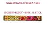 INCIENSO HONEY-ROSE 12 STICK