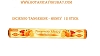 INCIENSO - TANGERINE-HONEY 12 STICK