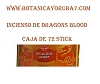 INCIENSO DRAGONS BLOOD  CAJA 72 STICK