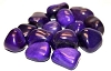 Purple Agate Stones each one
