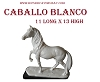 CABALLO BLANCO 11 LONG X 13 HIGH (CERAMICA)