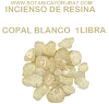 INCIENSO RESINA DE White Copal Resin 1 LIBRA