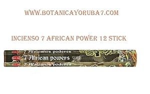 7 AFRICAN POWERS INCIENSO