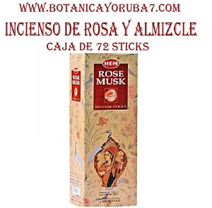 ROSE MUSK box 72 stick